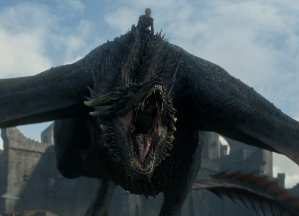 Drogon and Daenerys