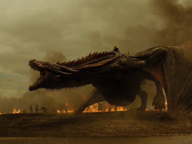 Drogon in all his glory.