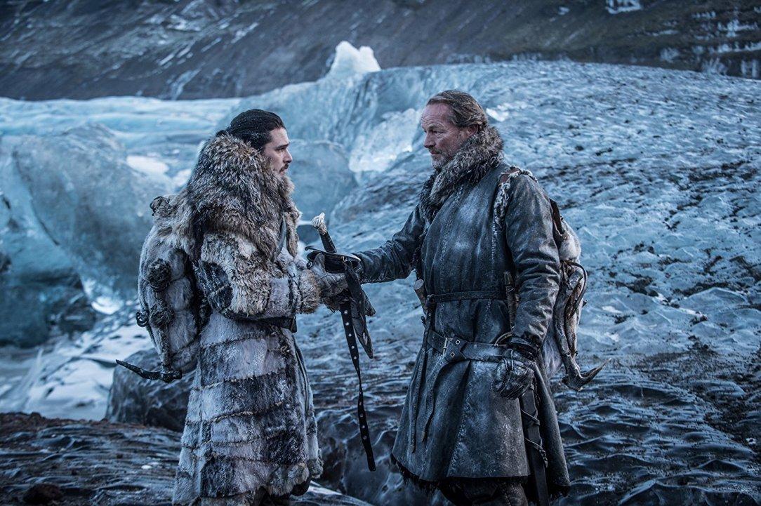 Jon Snow and Jorah Mormont