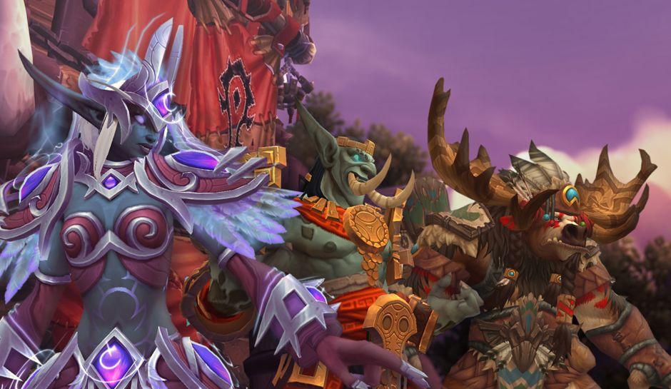 Horde ally races