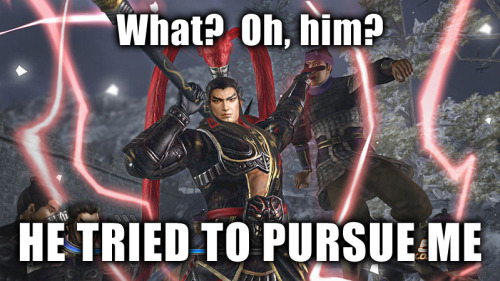 Pursue Lu Bu