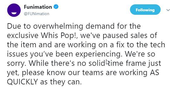 Funimation Update