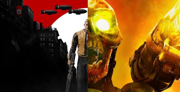 Doom-y-Wolfenstein-II