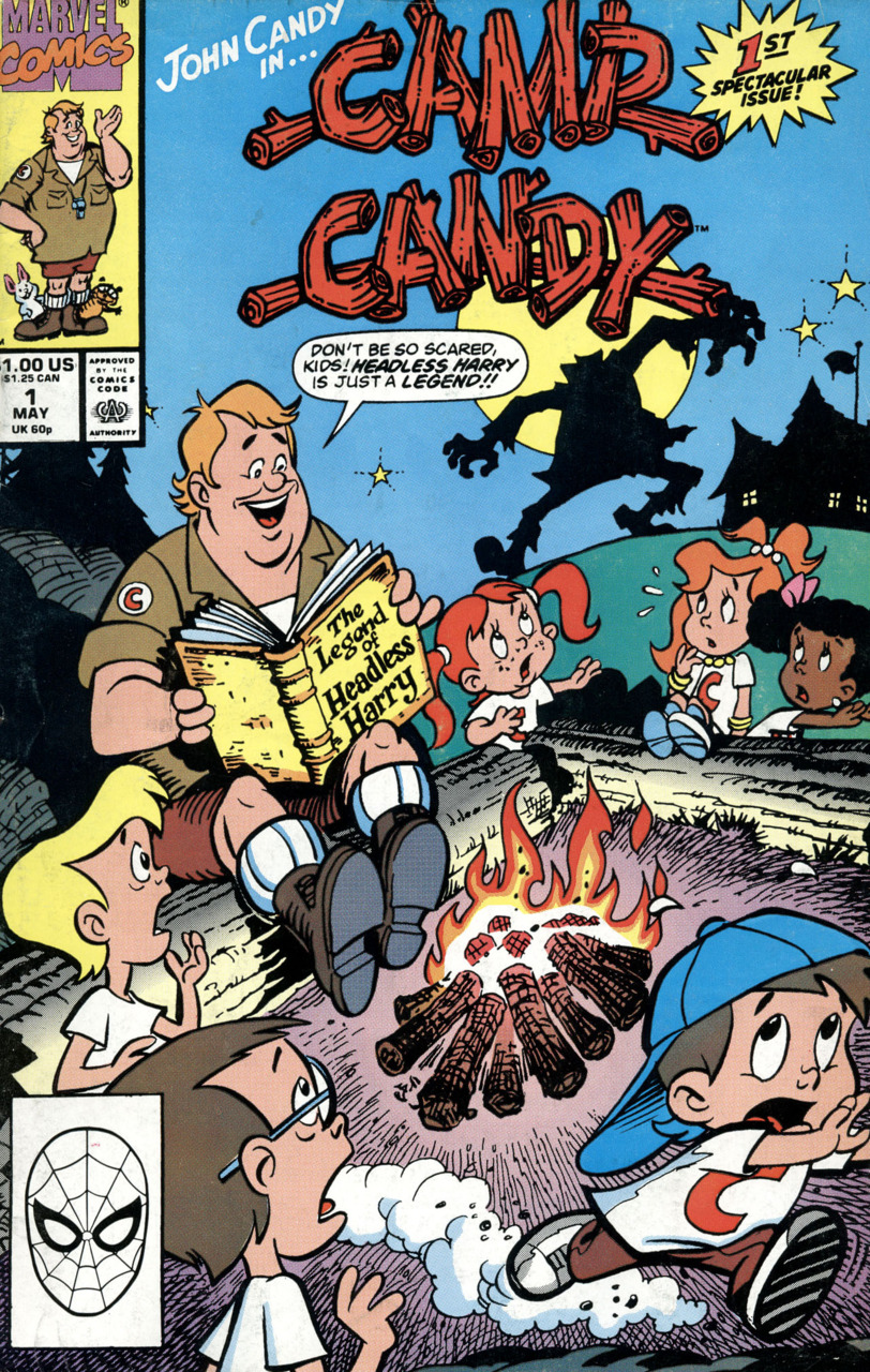 camp candy comic